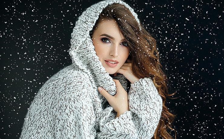 Чтобы оставаться красивой, достаточно соблюдать несложные зимние правила.